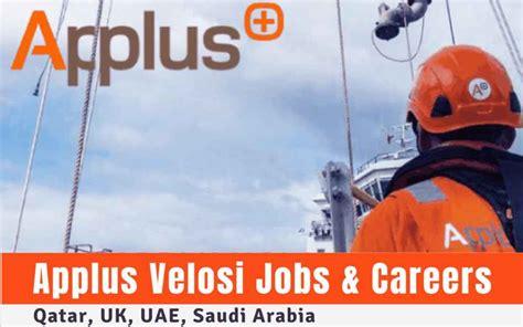 Applus Velosi Jobs & Careers: Qatar, UK, UAE, Saudi Arabia