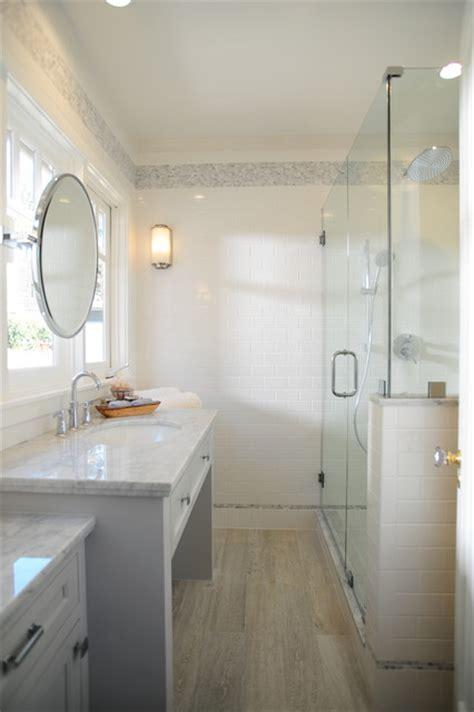 bungalow remodel craftsman bathroom los