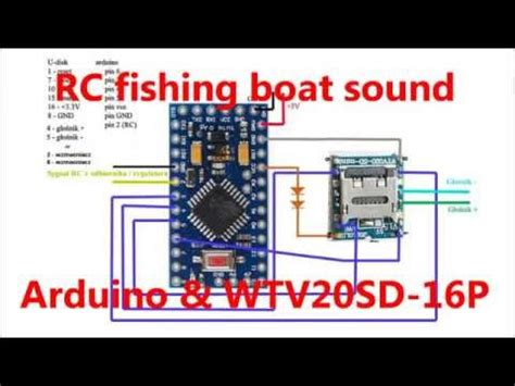 Fishing Boat Engine Sound by Arduino Wav 8bit Engine Sound Doovi