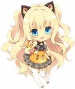 Little Chibi Neko Girl