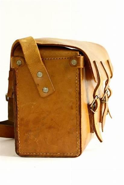 Bag Leather Tool Tan Rugged