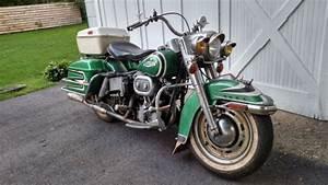 1968 Harley Flh Full Dresser Survivor Bagger Vintage