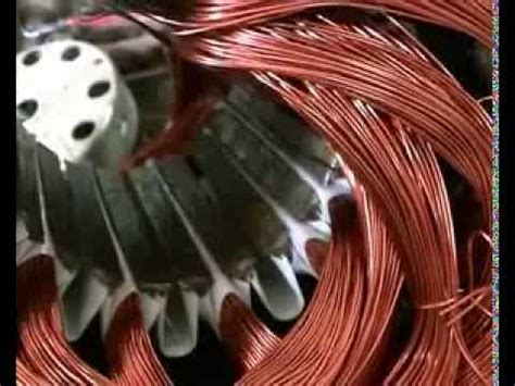 tutorial de bobinados 40 motor trifasico de 2 polos youtube