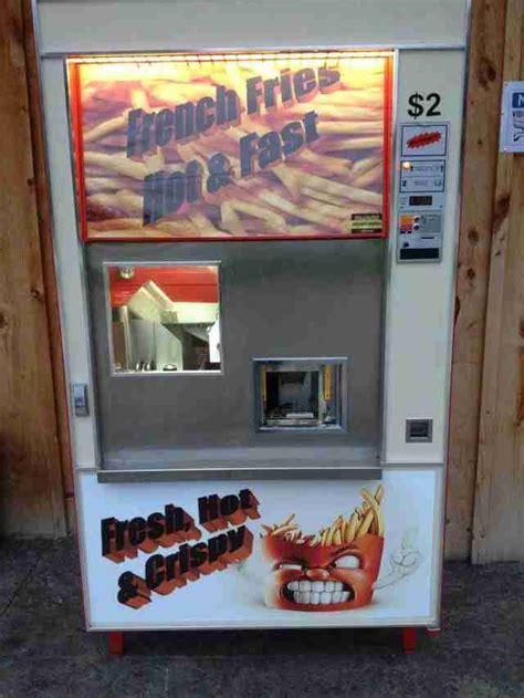 craziest food vending machines  burgers  wine