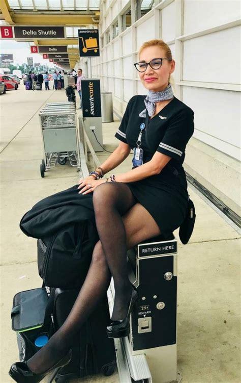 pretty flight attendants show