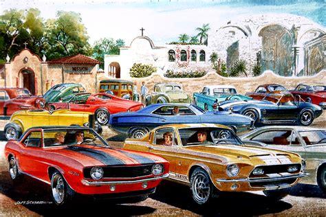Historic Car Show Returns To San Juan Capistrano