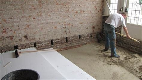 Huis Zonder Kruipruimte by Woningchecklist Vervangen Vloer Door Een Ge 239 Soleerde