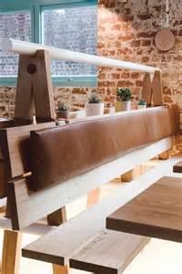 Restaurant Interior Design Bench Seating