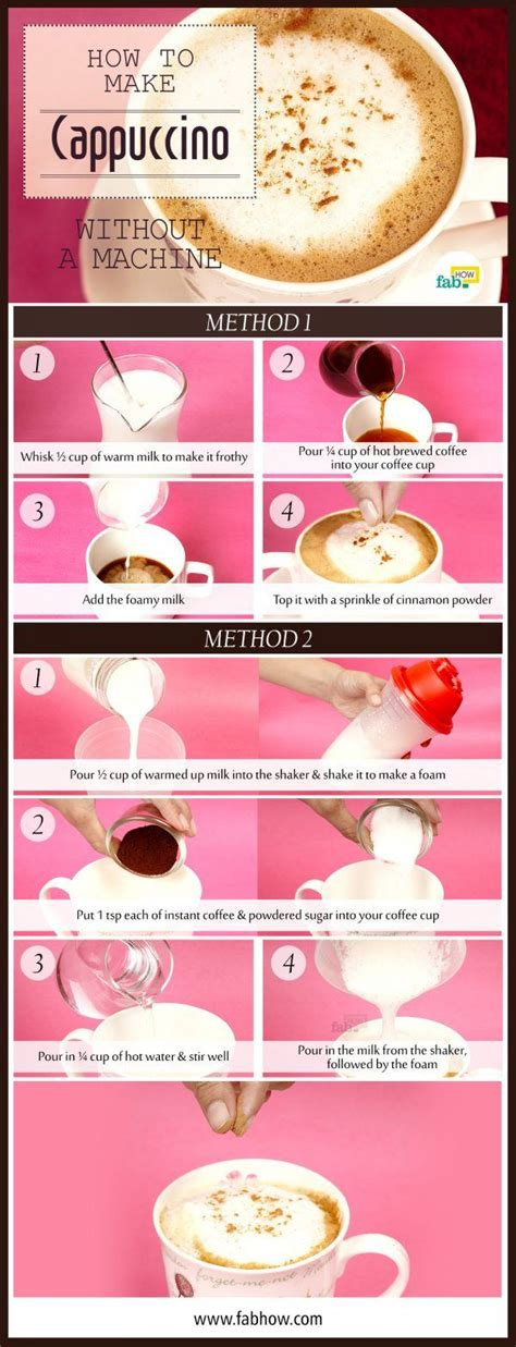 How To Make Cappuccino In 5 Minutes Without A Machine