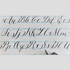 How To Write In Calligraphy  New Letters For Beginners =) Youtube