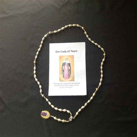 s tears rosary rosary of our of tears the holy family house of prayer