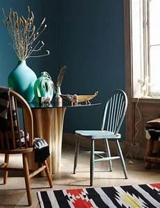 Petrol Wandfarbe Schlafzimmer : petrol als wandfarbe so wird sie kombiniert ~ Buech-reservation.com Haus und Dekorationen