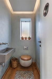 Ideen Für Gäste Wc : g ste wc mit deckenbeleuchtung im l ndlichen stil einrichten badezimmer ideen pinterest ~ Sanjose-hotels-ca.com Haus und Dekorationen