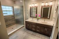 pictures of bathroom remodels West Lafayette Contemporary Master Bathroom Remodel ...