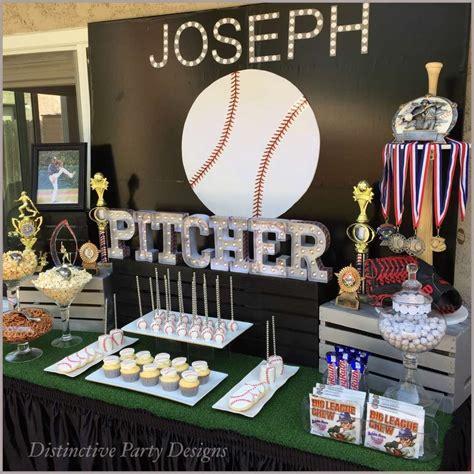 baseball birthday party ideas basketball baseball