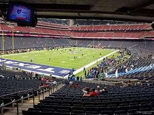 In Nrg Stadium Seating Chart Nrg Stadium Section 133 Houston Texans Rateyourseats Com