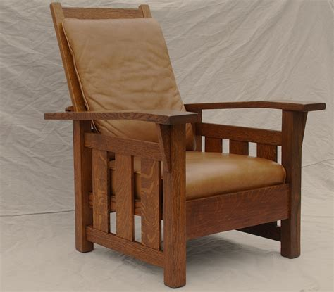 voorhees craftsman mission oak furniture stickley era