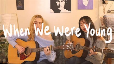 When We Were Young (adele)