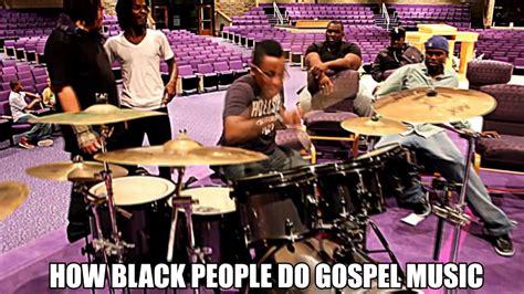 Black Gospel Music Vs. White Gospel Music