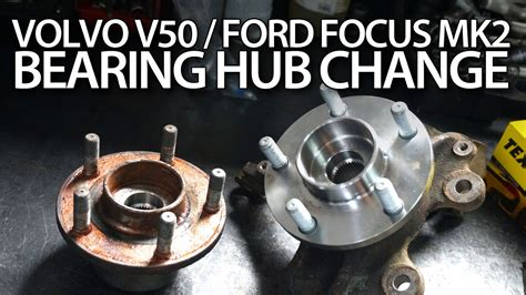 replace front bearing hub  volvo