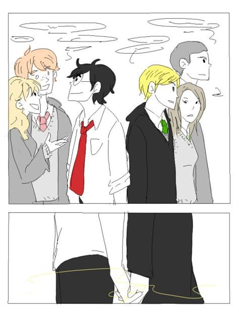 a fanart of bond by fugazzi probably the best drarry fanfic ever drarry pinterest