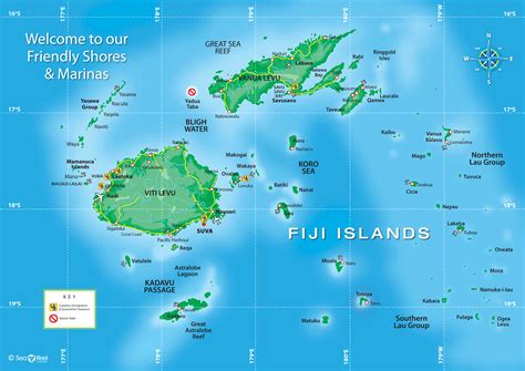 fiji map toursmapscom