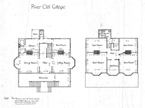 cottage floorplans charming cottage collection floor plans and photos