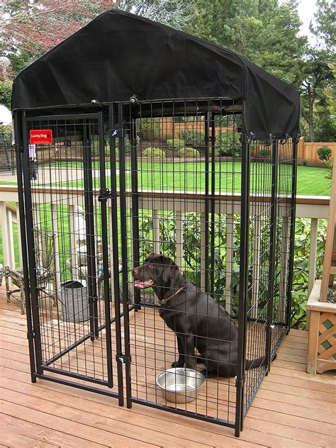 outdoor dog kennel lowes  safe containment   pet