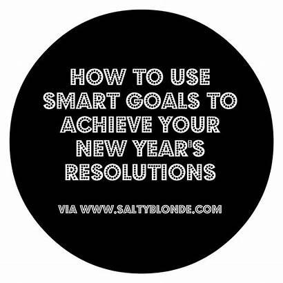 Goals Smart Resolutions Achieve