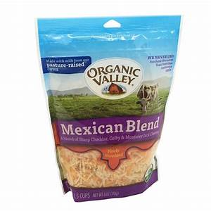 Organic Valley Organic Mexican Blend Finely Shredded ...