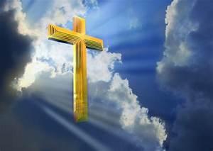 jesus cross in heaven