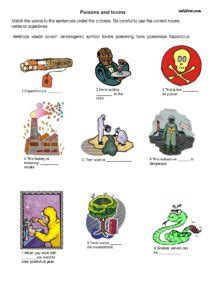 public health  safety vocabulary exercises