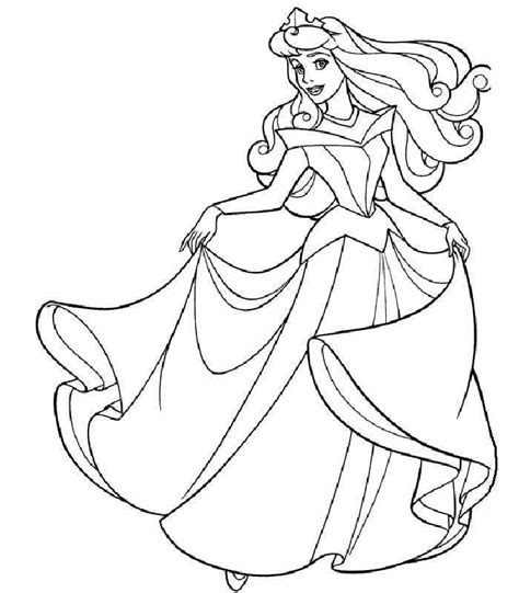 sleeping beauty coloring pages getcoloringpagescom