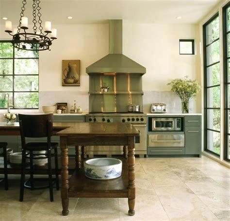 farmhouse kitchen island eclectic kitchen  iron gate