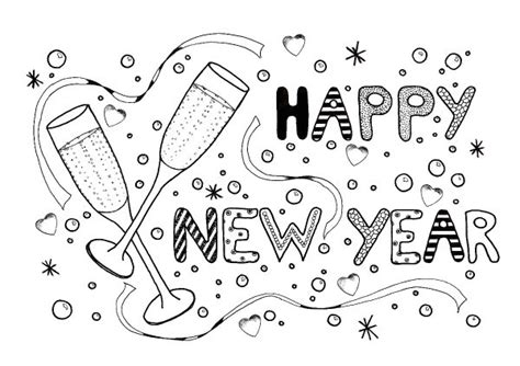 year celebration adult coloring page thriftyfun