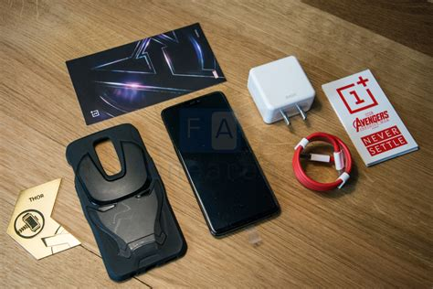 oneplus 6 marvel edition unboxing