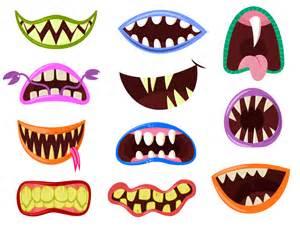 Monster Mouth Clip Art
