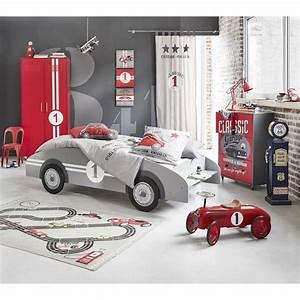 Lit Voiture 90x190 : lit voiture enfant 90x190 gris deco enfants pinterest ~ Teatrodelosmanantiales.com Idées de Décoration