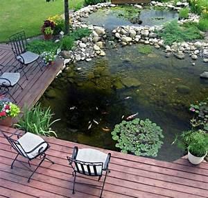 Bassin De Terrasse : 50 photos de bassin de jardin dans tous les styles ~ Premium-room.com Idées de Décoration