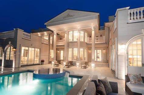 million newly built mansion  west vancouver canada