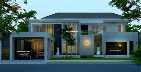 desain rumah mewah lantai kavling hook
