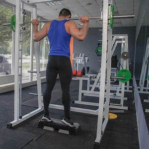 Smith Machine Standing Calf Raise  U2013 Fit Drills Website