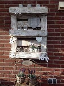 Europalette Deko Garten : pallet wand decorating palletten wanddeko hnliche tolle ~ Watch28wear.com Haus und Dekorationen