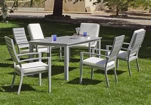 Muebles de jardin en aluminio espooocom for Muebles de jardin en aluminio