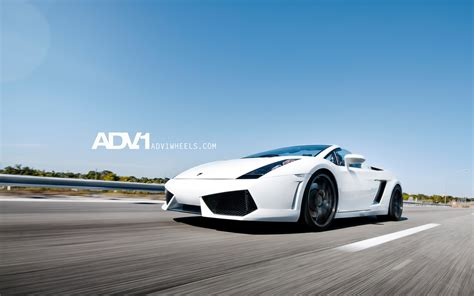 Lamborghini Gallardo On Adv 1 Wheels Wallpaper Hd Car