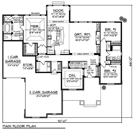 craftsman plans bungalow style homes floor plans craftsman style house
