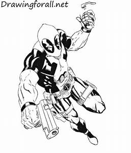 How To Deadpool Drawing In Pencil Full Body How To Draw ...