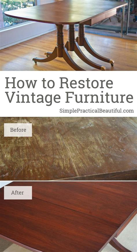 restoring a midcentury table simple practical beautiful