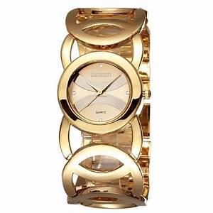 Marque De Montre Femme : belle montre femme marque de luxe d 39 or diamant quartz ~ Carolinahurricanesstore.com Idées de Décoration