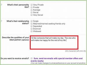 what to write on internet dating site
